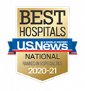U.S. News & World Report Best Hospitals Badge